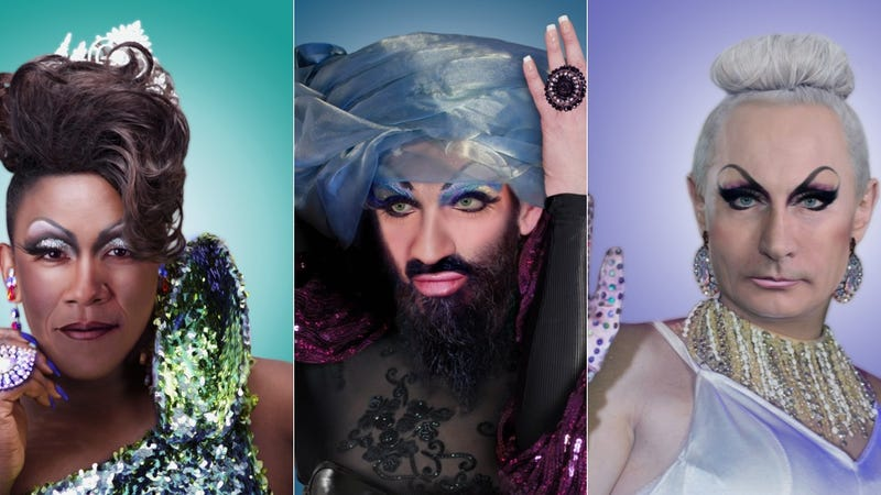 Illustration for article titled These Brilliant GIFs Transform Political Figures Into Drag Queens