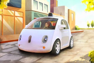 Illustration for article titled ​China's Google Is Working On A Self-Driving Car