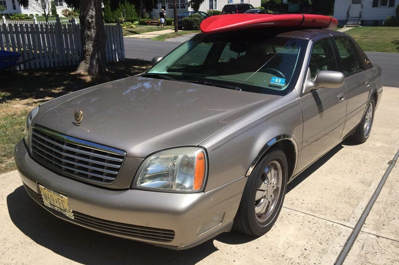 Illustration for article titled 2004 Cadillac Deville Family Fun Summer Watersports Package!
