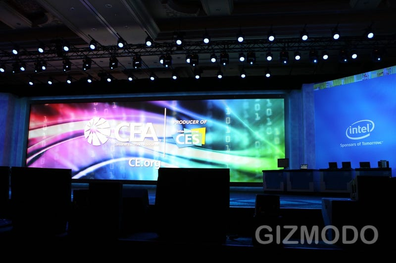 Illustration for article titled We're Live from Intel's Skinny Laptop, Super Phone CES Keynote