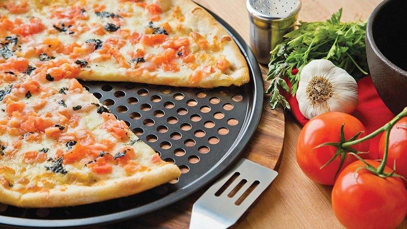 Fox Run Pizza Crisper Pan Carbon Steel | $14 | Amazon