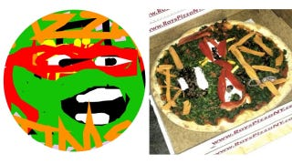 Illustration for article titled Paint Your Pizza Lets You Design Deliciously Ugly Made-To-Order Pizzas On the Web