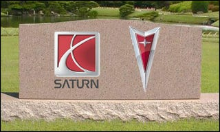Illustration for article titled GM To Officially Kill Saturn Brand, Most Of Pontiac