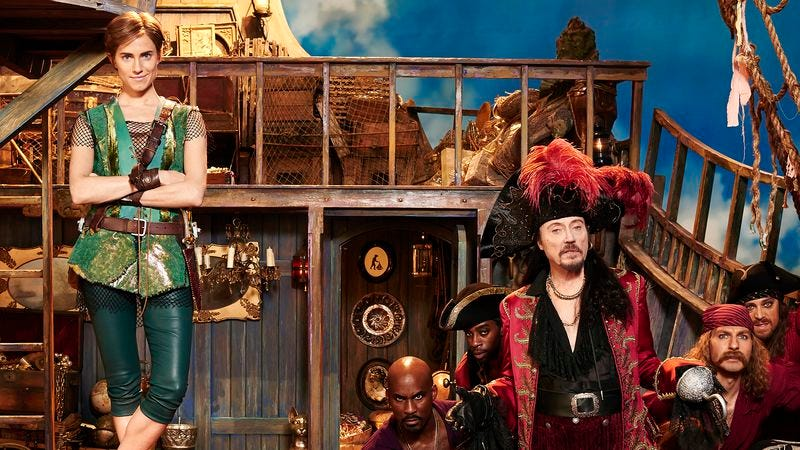 Illustration for article titled Peter Pan Live!