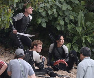 Illustration for article titled Hunger Games: Catching Fire director promises NO SHAKY CAM