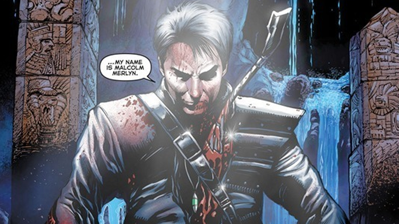 Illustration for article titled John and Carole Barrowman Delve Into the Mysteries of Arrow's Malcolm Merlyn