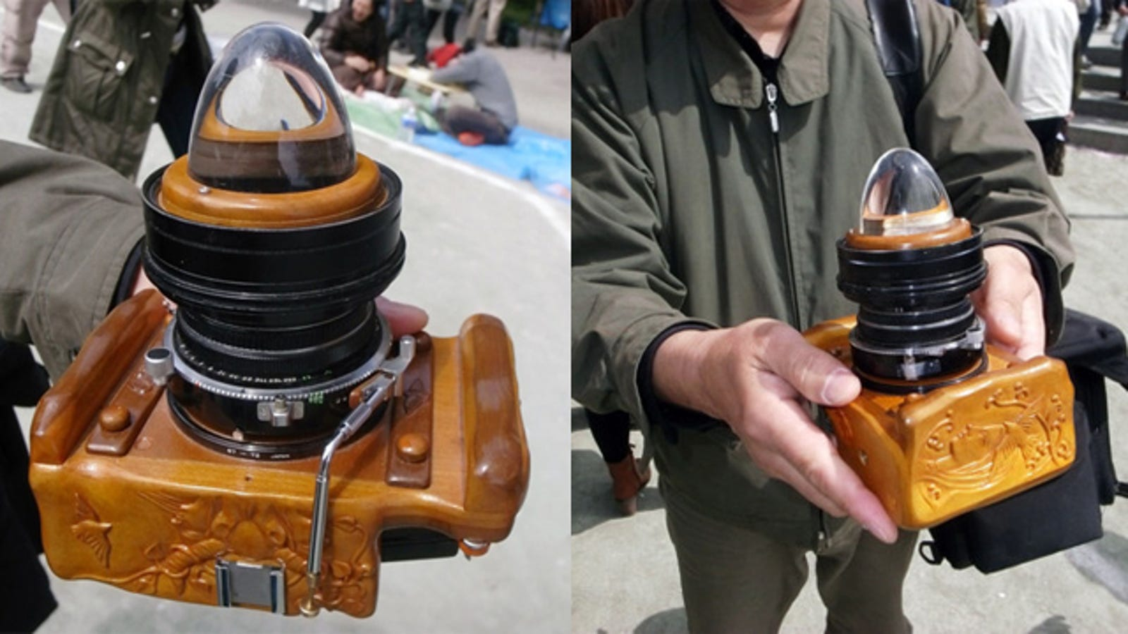 Homemade Camera Looks Like Your Nan S Kitsch Lamp