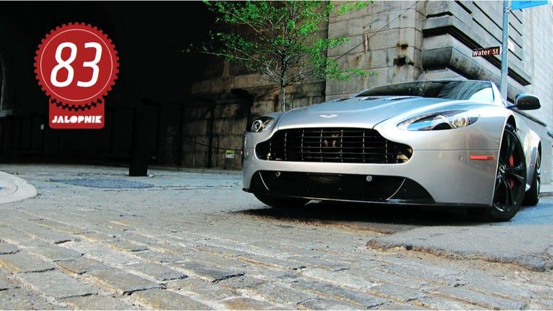 Illustration for article titled 2012 Aston Martin V12 Vantage: The Jalopnik Review