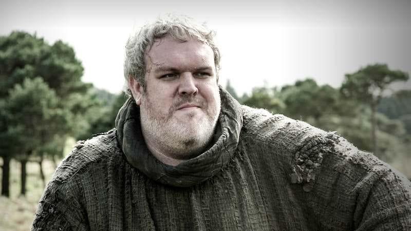"Hodor on ""Game Of Thrones"" via HBO"