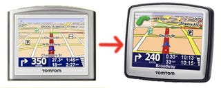 Illustration for article titled TomTom 130, 130s, 330, 330s: One and XL Redesigned, Stow-Away Mount