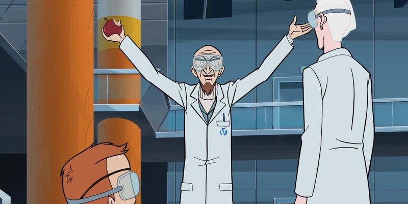 Illustration for article titled A new invention leads to old jokes on The Venture Bros.