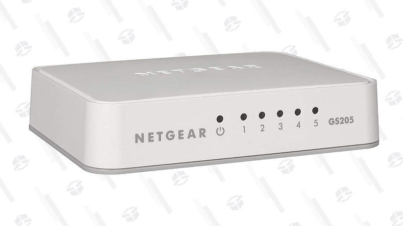 NETGEAR 5-Port Gigabit Ethernet Unmanaged Switch  | $11 | Amazon