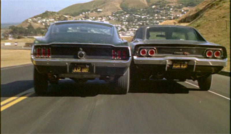 muscle car vs. pony car - truckleather