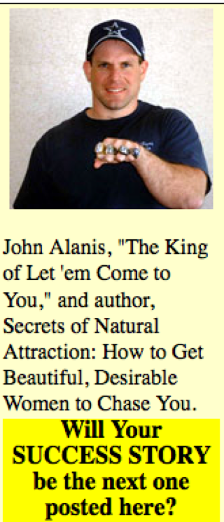 "Illustration for article titled Meet John Alanis, ""The King Of Let 'Em Come To You"""