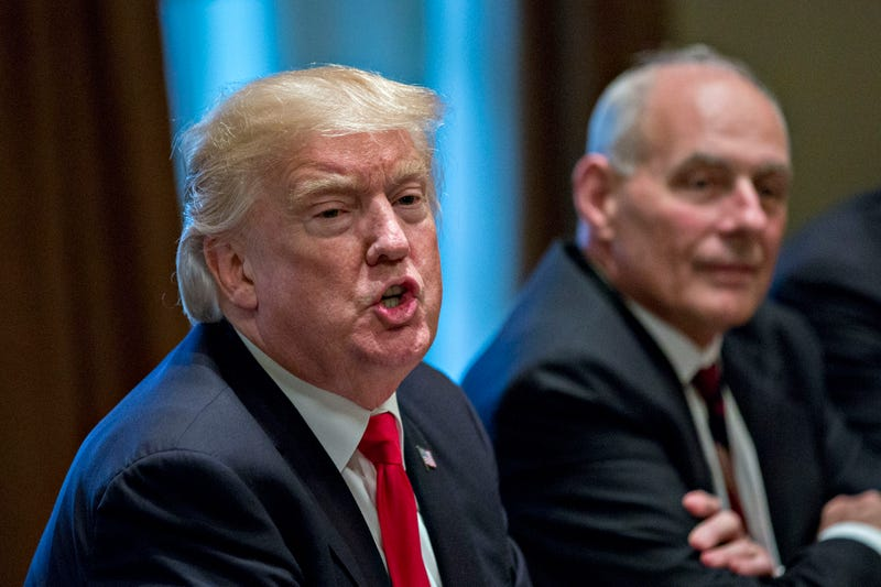 President Donald Trump and White House chief of staff John Kelly (Andrew Harrer-Pool/Getty Images)