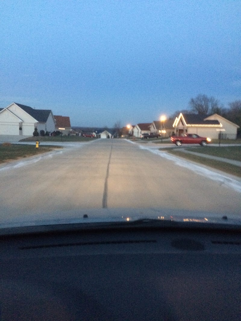 Illustration for article titled This is what my subdivision looks like after last weekend's ice