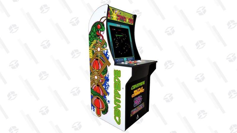 Centipede Arcade1UP Arcade Machine w/ BONUS Arcade1UP Riser | $175 | Walmart