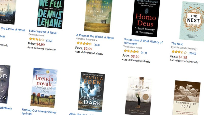 Kindle Best-Sellers, $5 and under