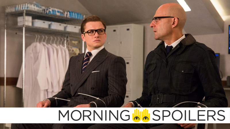 Strap in for more Kingsman.