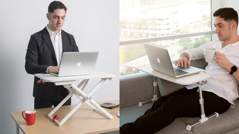 TaoTronics Laptop Standing Desk | $60 | Amazon | Promo code KINJAH52TaoTronics Folding Laptop Desk | $28 | Amazon | Promo code KINJAKYV plus $5 clippable coupon