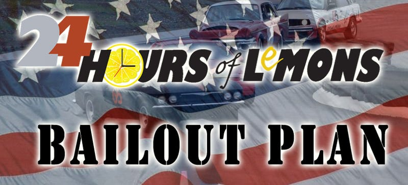 Illustration for article titled Even The 24 Hours Of LeMons Has A Bailout Plan For Detroit