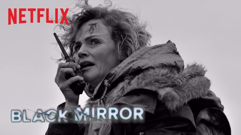Black Mirror goes black and white in 'Metalhead' trailer