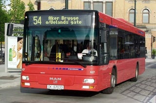 Illustration for article titled 80 Buses in Oslo Will Be Powered by Raw Sewage