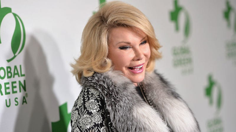 Illustration for article titled Clinic Where Joan Rivers Died Loses Federal Accreditation