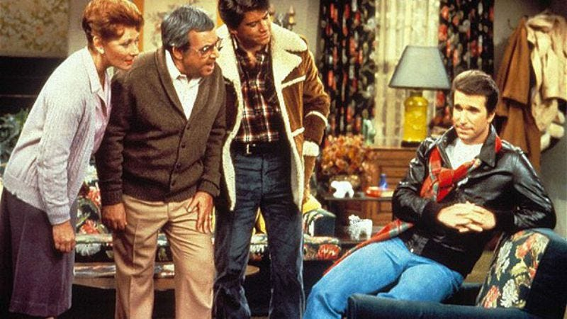 A scene from Happy Days you'll soon be able to watch without journeying back to the 1970s.