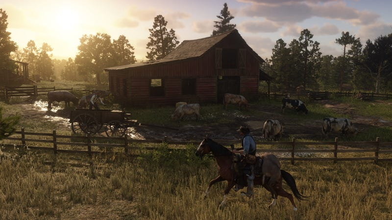 Illustration for article titled Why Reporting a Red Dead Redemption 2 Leak Cost a British Website $1.3 Million