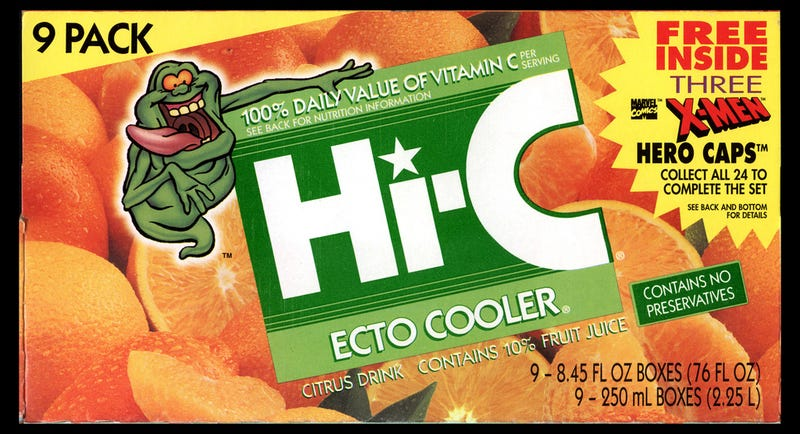 Illustration for article titled HOLD EVERYTHING. Is Ecto-Cooler Coming Back?!