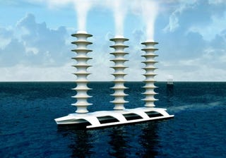 Illustration for article titled A Fleet of 1500 Cloud-Seeding Ships Could Stop Global Warming, Say Scientists