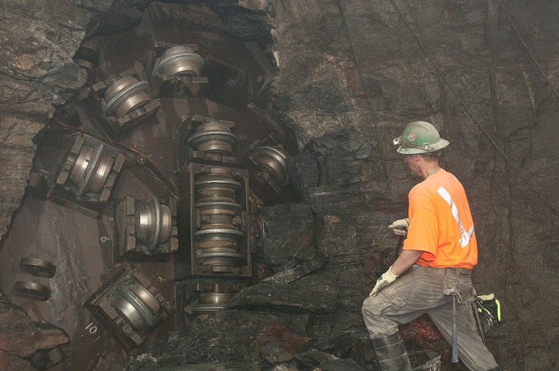 Illustration for article titled Tunnel Boring Machine: Completion Gallery