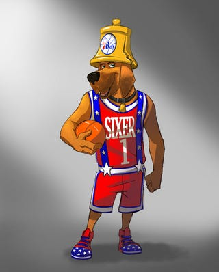 Illustration for article titled Molesty Sixers Mascot Needs Somebody Inside Him