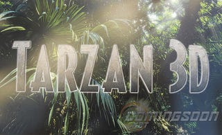 Illustration for article titled Tarzan 3D Title Picture
