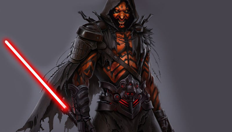Illustration for article titled Another Look At That Cancelled Darth Maul Game