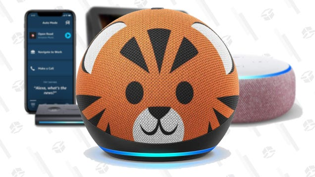 Put a Tiger on It! Pretty Much Every Amazon Echo Device Is on Sale