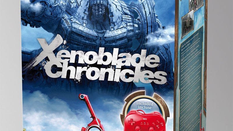 Illustration for article titled Europe's Fancy Big Box of Xenoblade Chronicles