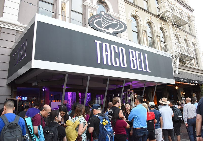 Taco Bell Celebrates Return of Nacho Fries and Demolition Man 25th Anniversary With Futuristic Dining Experience at Greystone Prime Steakhouse & Seafood on July 19, 2018 in San Diego, California.