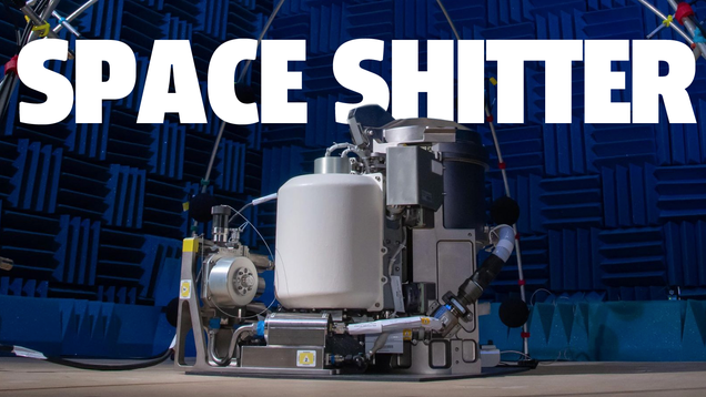 There s A Bold New Shitter Headed For The International Space Station