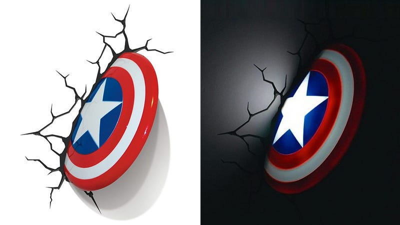 Illustration for article titled Las lámparas de Los Vengadores que no querrás quitar de la pared
