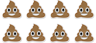 Illustration for article titled A Brief History of the Poop Emoji