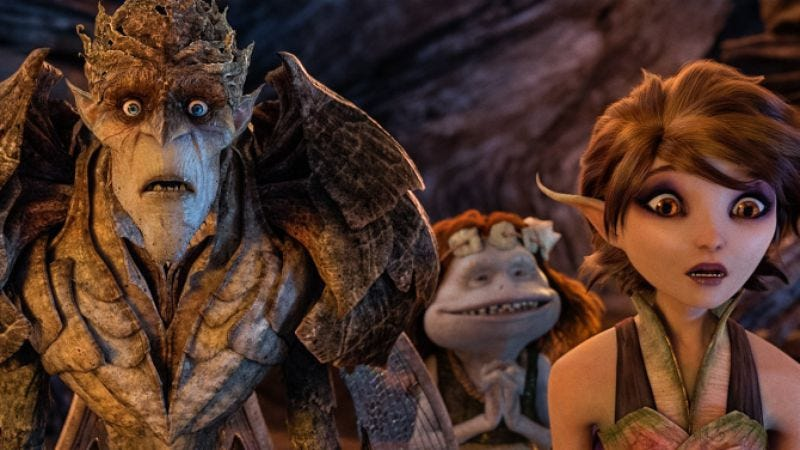 Illustration for article titled George Lucas is making an animated comedy called Strange Magic