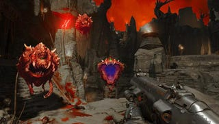 Illustration for article titled Fans Are 'Fixing' The New Doom's Colors, Speed