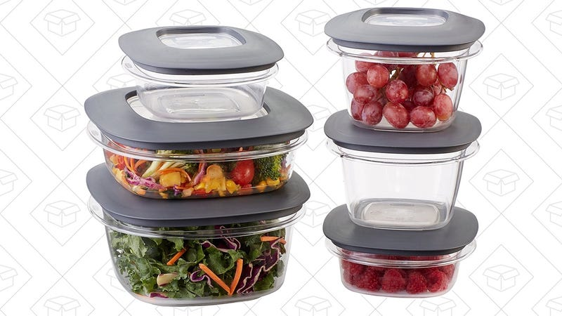 Rubbermaid Premier Food Storage Containers, $15