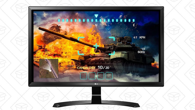 "LG 27"" 4K IPS Display, $322"