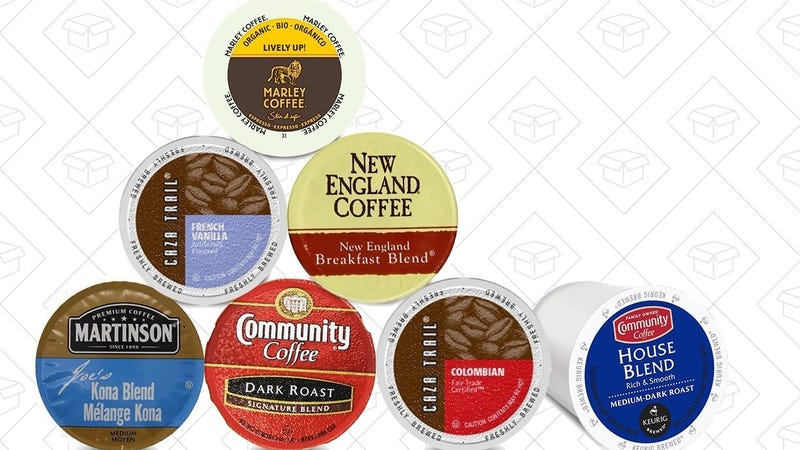 K-Cup Sampler + $10 Coffee Credit, $10