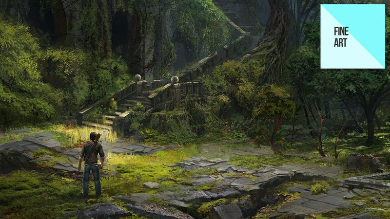 Illustration for article titled A Celebration of the Art of the Uncharted Trilogy