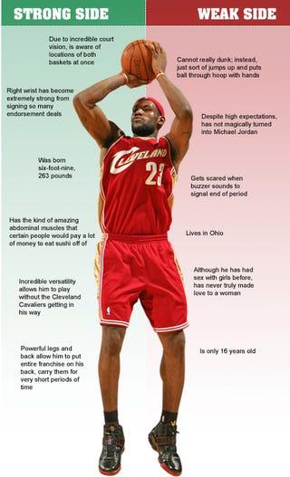 Illustration for article titled LeBron James