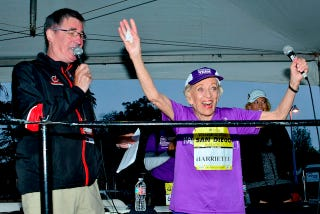 Illustration for article titled This 92-Year Old Woman Just Finished Her 16th Marathon